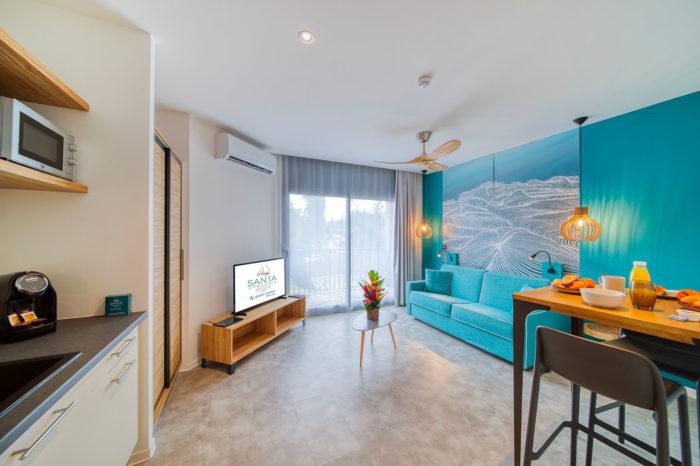 Résidence SANTA APOLONIA - location d'appartements 4* sur l'ile de la réunion