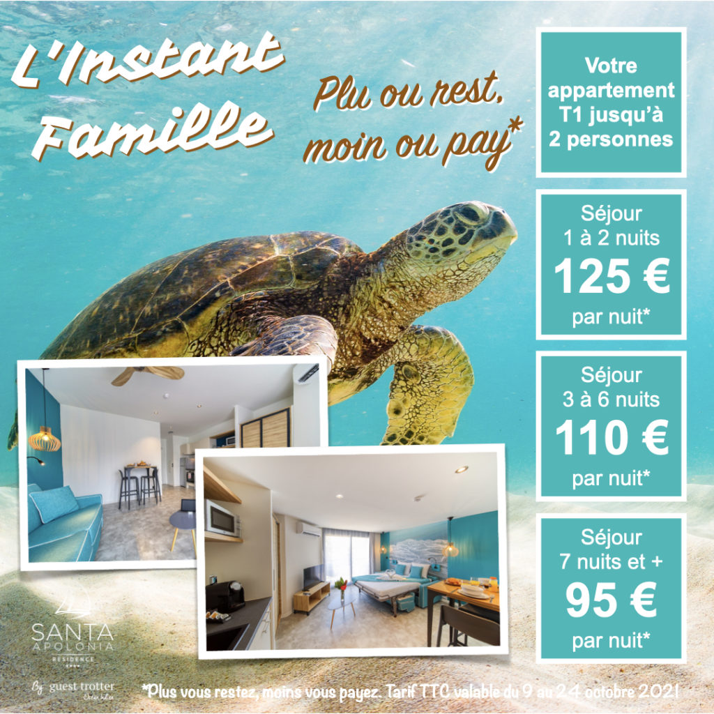 Instant Famille - Offre T1 Vacances 2021