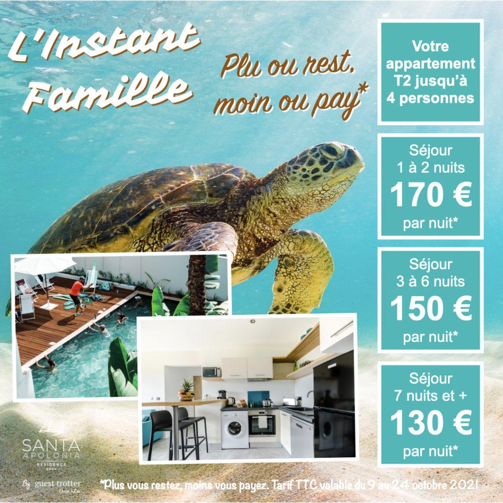 Instant Famille - Offre T2 Vacances 2021